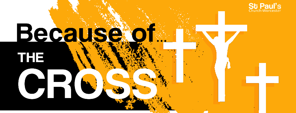 Because of the cross image for the series Because....